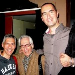 with Pat martino and my friend Stelios